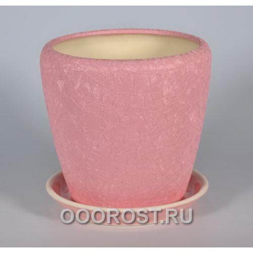 Горшок Грация №3 2,3л (шелк роз.)