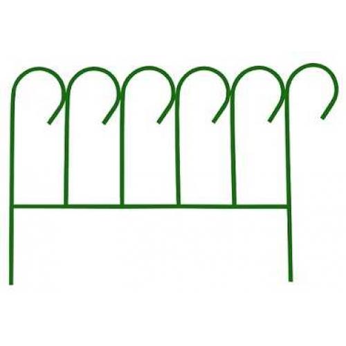 Заборчик Декоративный 3,8м (5 секций 76*50 см)