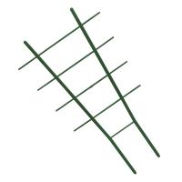 Лесенка для цветов зеленая L57