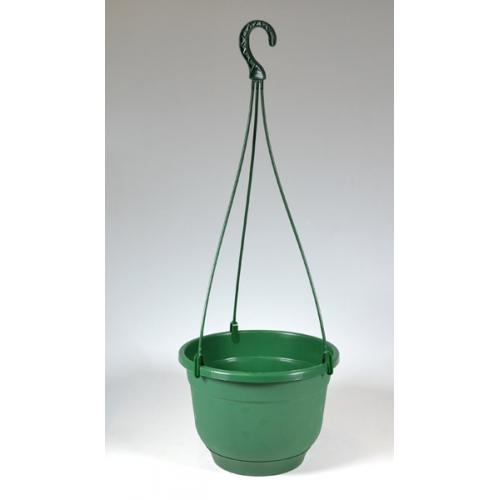 Горшок Флокс подвесной d24см 5,5л зеленый