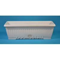 Ящик балконный Терра  80см мрамор