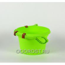 Горшок Глория подвесной d20см, h13см оливковый