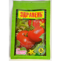 Удобрение для томатов,перцев Здравень ТУРБО  30гр, минеральное