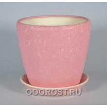 Горшок Грация №2 4,5л d 20см (шелк роз.)