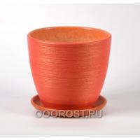 ФЛЕР красный крокус №1  d12см, 0,7л