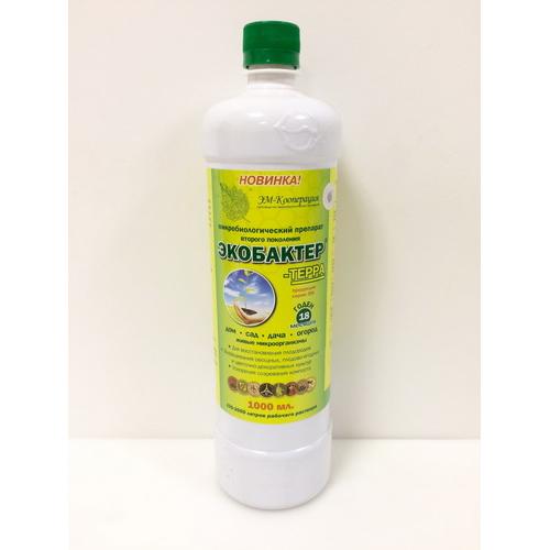 Биофунгицид/удобрение Экобактер-терра 1л
