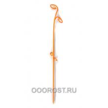 Держатель д/орхидей Лиана h 61см оранжевый