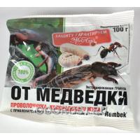 Инсектицид от медведки, проволочника Рембек гранулы 100гр