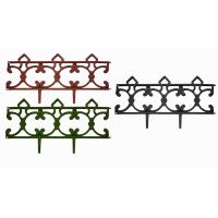 Заборчик Парковый черный (дл 2,9м, выс 31см, 5секций)