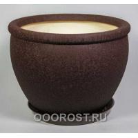 Горшок Вьетнам №1 (Шелк шоколад) 18л, d37,5см