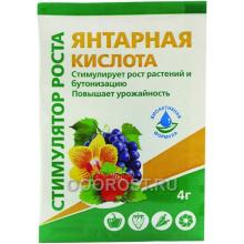 Регулятор роста Янтарная кислота 4 гр