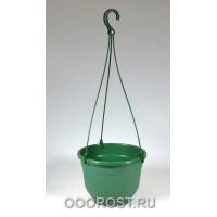Горшок Флокс подвесной d22,5см 4,2л (зелен)