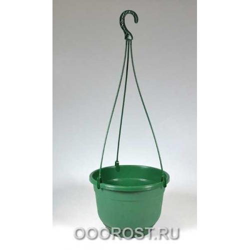 Горшок Флокс подвесной d22.5см 4.2л зеленый