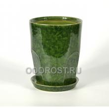 Горшок Авангард №2 (зеленый) d20, h25, v5л