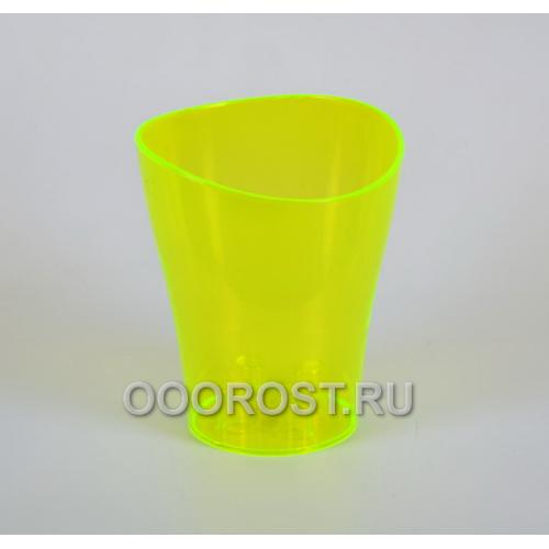 Кашпо Ника для орхидей пластиковое d16см, h19см ультра зеленое