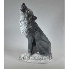 Фигура Волк сидит H53см