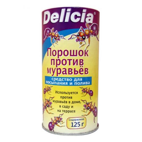 Инсектицид от муравьев Делиция приманка 125гр