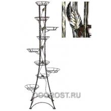 Подставка Березка-9   H 172см (квадрат с листочками)