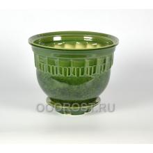 Горшок Мечта №2 (зеленый) 6л, d27см, h19см