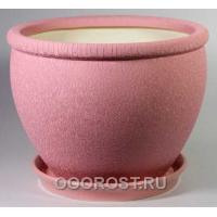 Горшок Вьетнам №1 (Шелк розовый) 18л, d37,5см