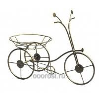 Подставка настольная металлическая Велосипед на 1 горшок