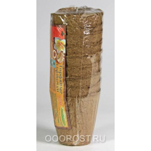ЭТ Торфяные горшки(упак. 9 шт) d 9 см, h 9 см, 0.35 л.