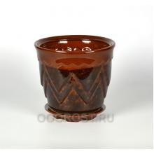 Горшок Арго №2 коричневый 2.8 л