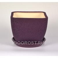 Горшок Ноктюрн №3 (шелк фиолет)  1,8л  d16см