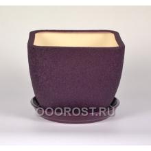 Горшок Ноктюрн №1 (шелк фиолет)     11,5л  d29см