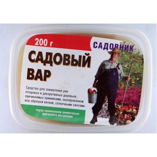 Фунгицид Вар садовый Садовник 200гр