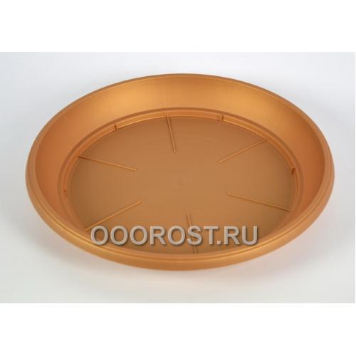 Поддон под горшок d12 бронза (размеры: внешний d10см , внутренний d8см)