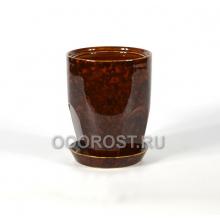 Горшок Авангард №3 коричневый d15, h19, v2,3л
