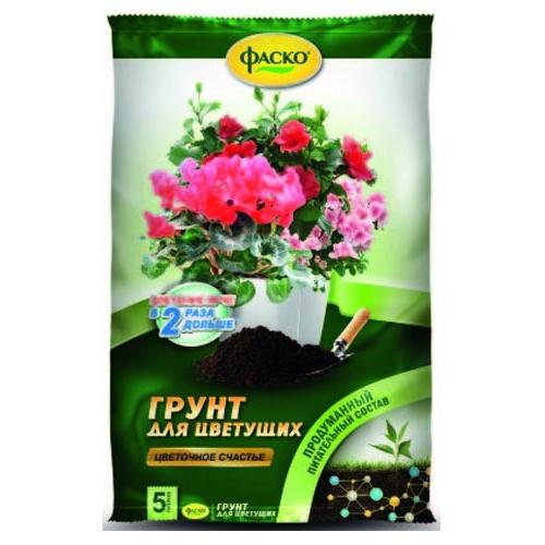 Грунт для цветущих 5л Цветочное счастье