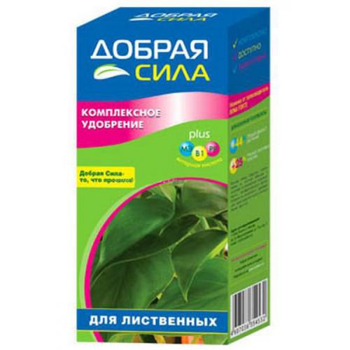 Жидкое удобрение Добрая Сила декор/лиственные 250мл
