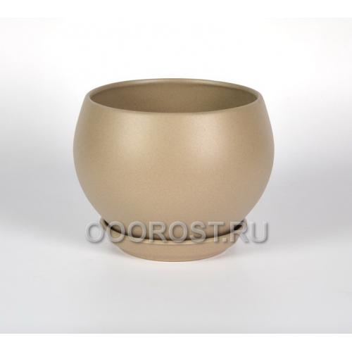 Горшок Шар №1 (крошка капучино) 4.1л, d23см