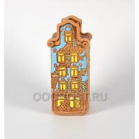 Кашпо, Ваза Нидерланды дом №9 h28см, диаметр 13*10см, 2.4л