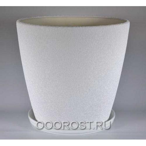 Горшок Грация №0 (шелк белый) 30 л