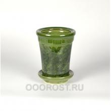 Горшок Альфа №4 зеленый 1.8 л