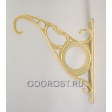 Крюк настенный для подвесных горшков белый, тип D
