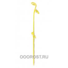 Держатель д/орхидей Лиана h 61см Желтый