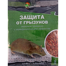 Родентицид Домовой зерно 200гр
