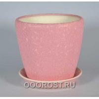 Горшок Грация №1 шелк розовый 10 л