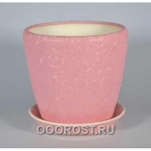 Горшок Грация №1 (шелк розов) 10 л