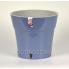 Горшок Дали 1.2л, дымчатый синий-Серый, d13.5см, h12.5см