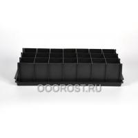 Ящик Универсал 41см черный на 21 ячеек