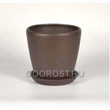 Горшок Грация №1 (крошка шоколад) 10л, d26см, h26см