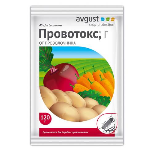 Инсектицид от проволочника Провотокс 120гр