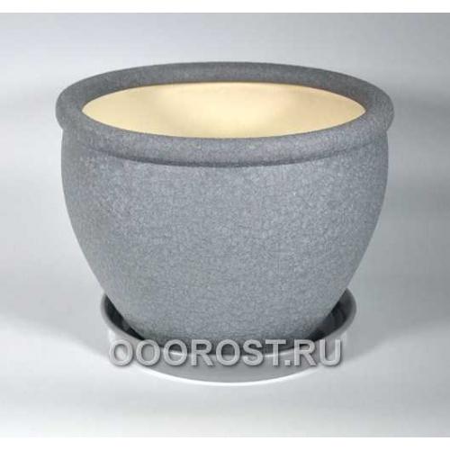 Горшок Вьетнам №1 (Шелк металлик) 18л, d37,5см