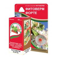 Инсектицид Фитоверм Форте флакон 50мл