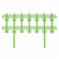 Заборчик Классик салатовый (дл 1,8м, выс 25,5см, 5секций)